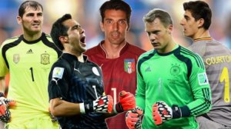 Five goalkeepers shortlisted for FIFA FIFPro World XI 2014