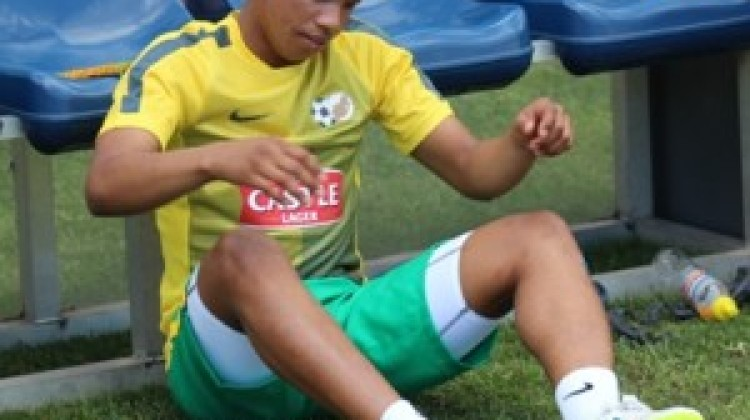 Andile Jali's injury progress has improved compared to when he arrived