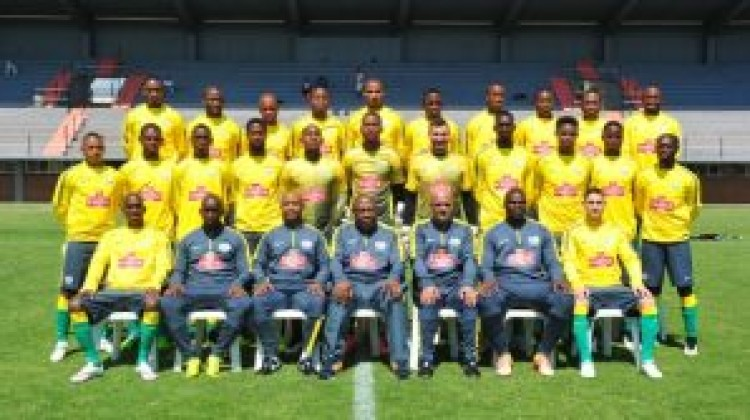 Bafana Bafana departed for Gabon this afternoon