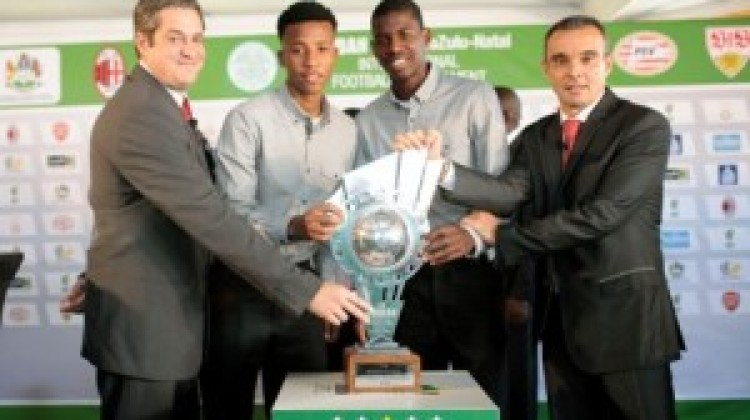TEAMS PAIRED UP FOR THE DURBAN U19 INTERNATIONAL FOOTBALL TOURNAMENT