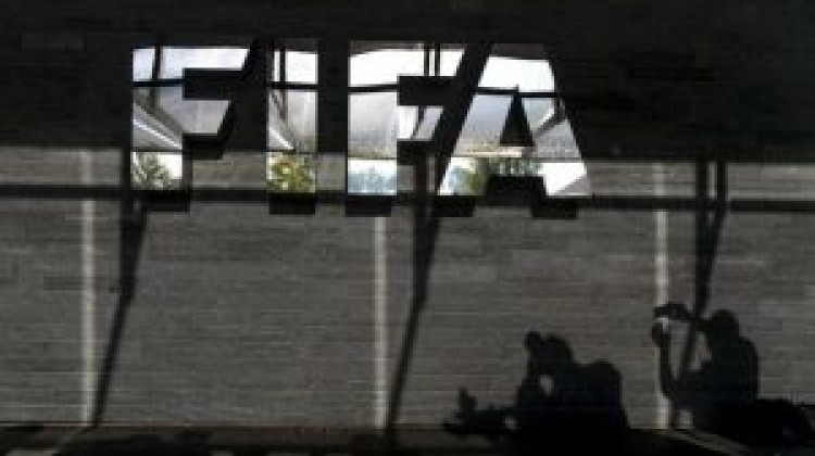 """The US Department of Justice statement names nine Fifaofficials and five """"corporate executives"""