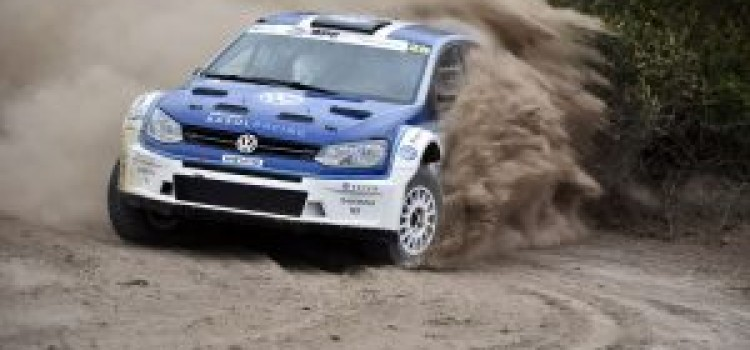 Bad weather is the big winner at the Volkswagen Rally
