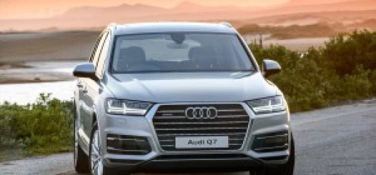 Dauntless. The all-new Audi Q7