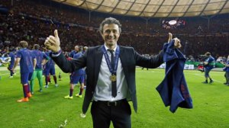 Luis Enrique candidate for FIFA Best Coach of the Year