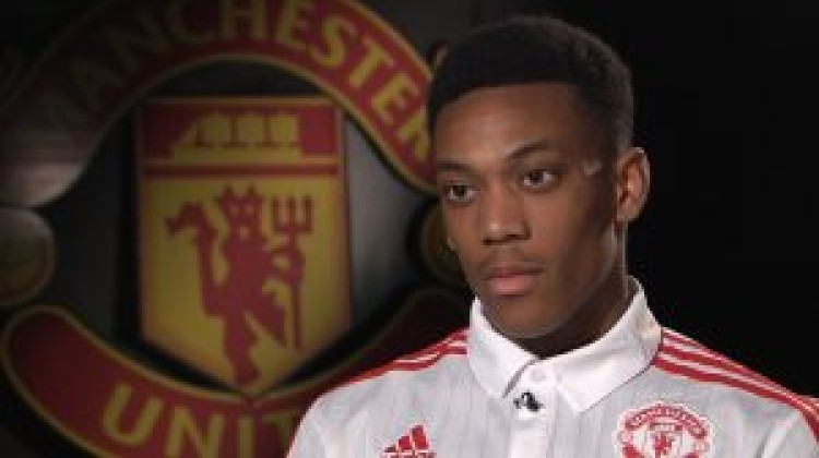 Anthony Martial set for Liverpool rematch