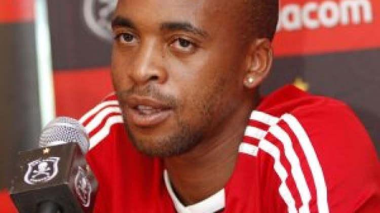 Oupa Manyisa – has started running on the field and ball work