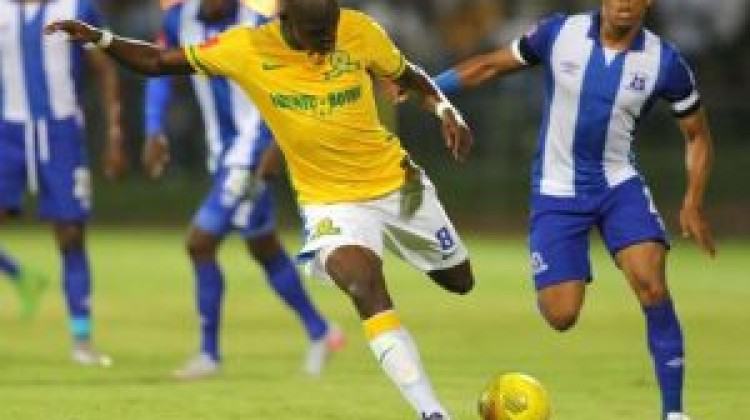 Mamelodi Sundowns remain at the top of the Absa Premiership standings, despite dropping two points