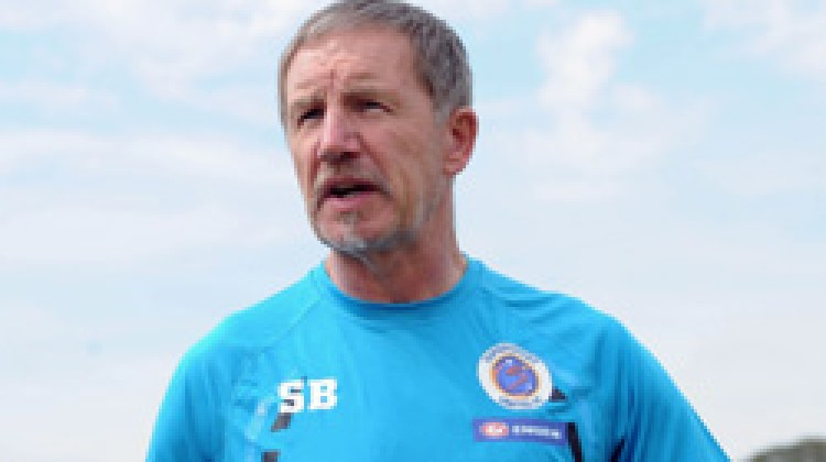 Stuart Baxter,We have to be consistent