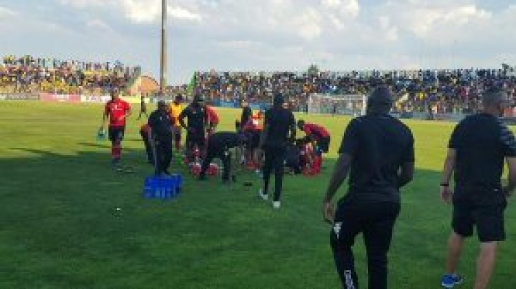 Highlands Park held Sundowns to a goalless draw during normal time