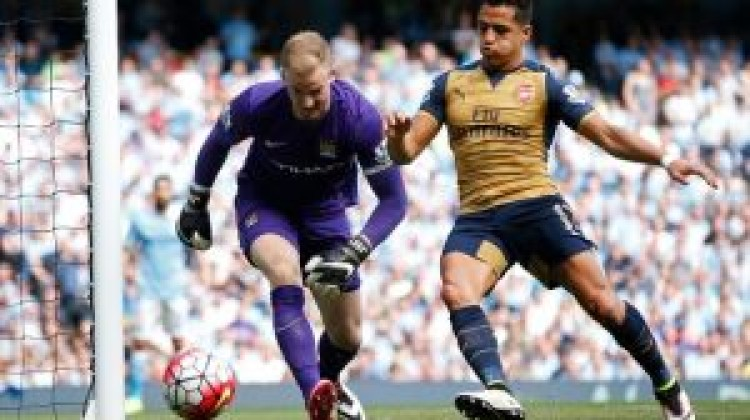 Thierry Henry slams Joe Hart for laughing at Manchester City mistake which led to Arsenal goal