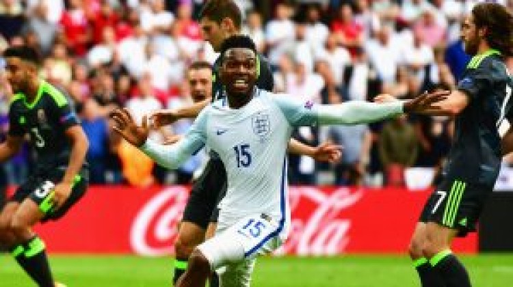 Substitutes Jamie Vardy and Daniel Sturridge scored as England came from behind to beat Wales 2-1