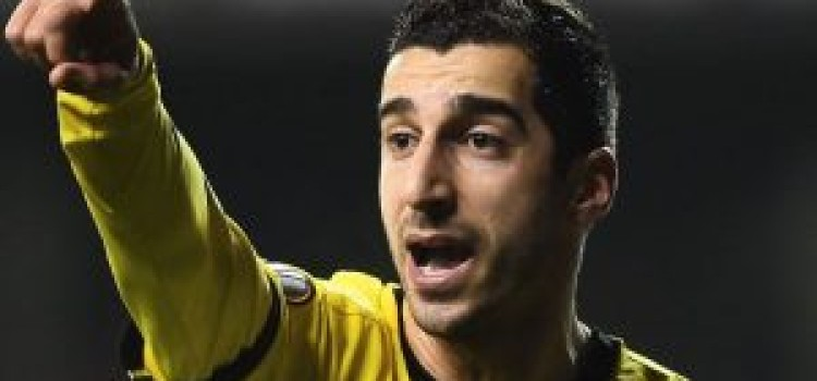 Man United confident of landing Mkhitaryan for £26m