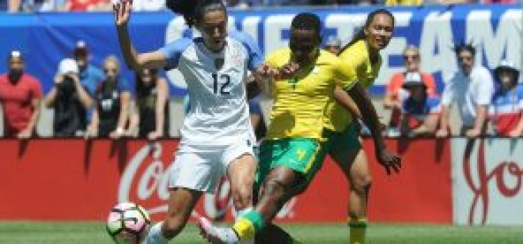 Gallant Banyana Banyana go down to USA