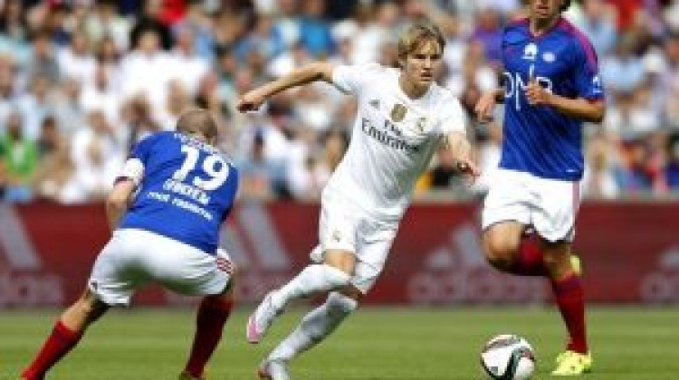 Odegaard could be heading  on loan