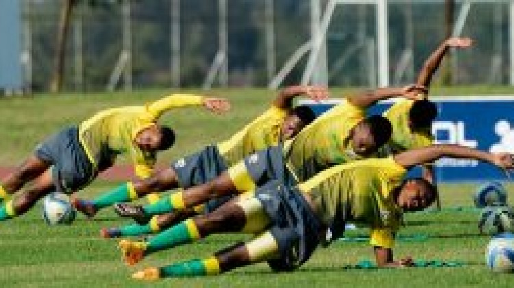 Banyana Banyana had their first training session on Monday, 17 October