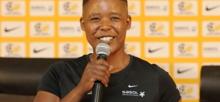 Portia Modise launches a foundation for Women in Football