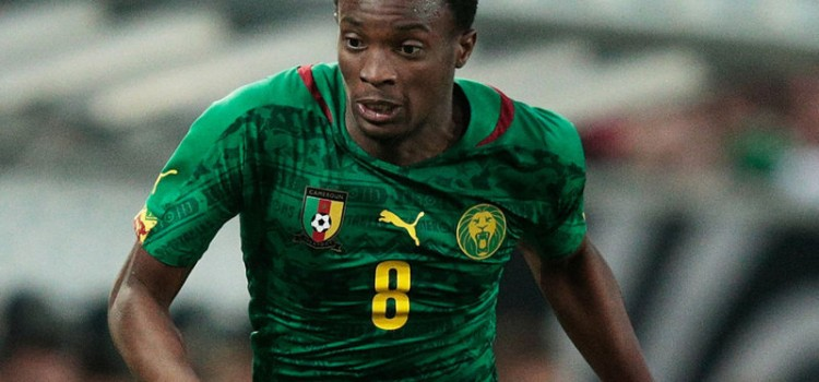 CAMEROON BATTLE BACK TO BEAT GUINEA-BISSAU