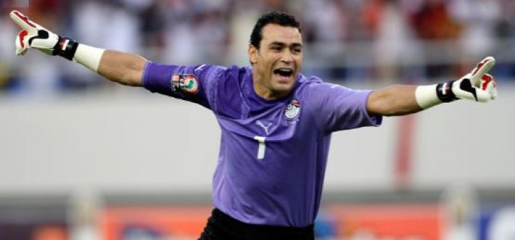 44 Year   Essam El Hadary is  AFCON 'OLD SOLDIERS