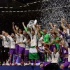 Real Madrid became the first team to win back-to-back UEFA Champions League trophies with victory over Juventus