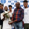 DEBUTANTS, LA-MASIA FC, CROWNED THIS YEAR'S DISCOVERY WALTER SISULU SOCCER CHALLENGE CHAMPIONS.
