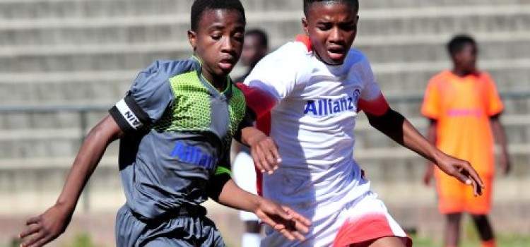 Maimane Phiri scouts top talent for the Allianz Junior Football Camp in Germany