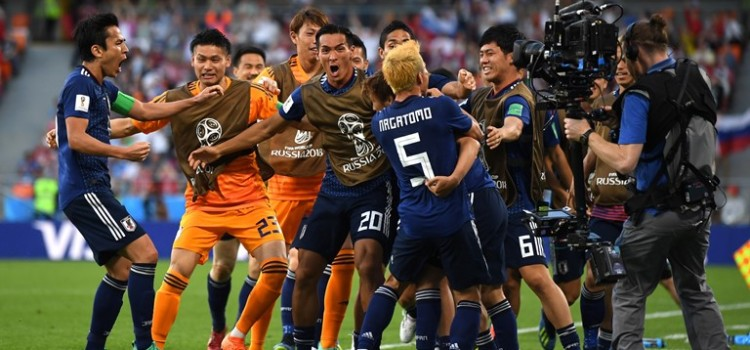 After a difficult start to this match, Japan are smiling again.