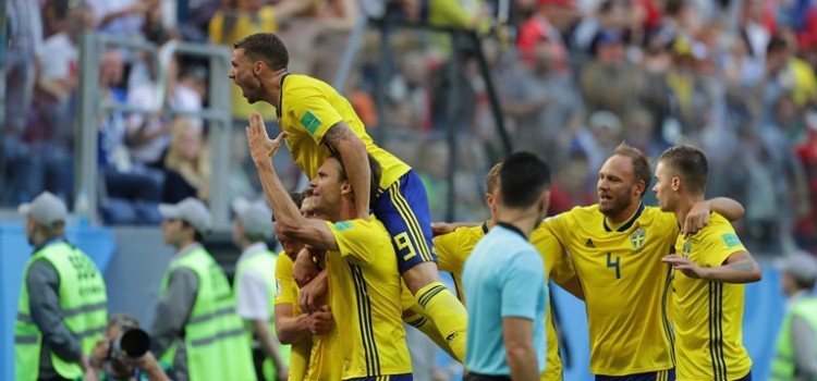 Emil Forsberg effort sealed victory for Sweden
