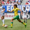 Smeda's strike puts her into the history books
