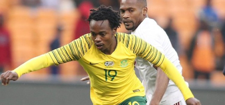 Bafana Bafana Drop to second