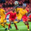 Willard Katsande captain the side in the absence of Itumeleng Khune