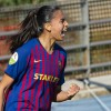 Brazilian forward Andressa looks ahead to the match, upcoming World Cup