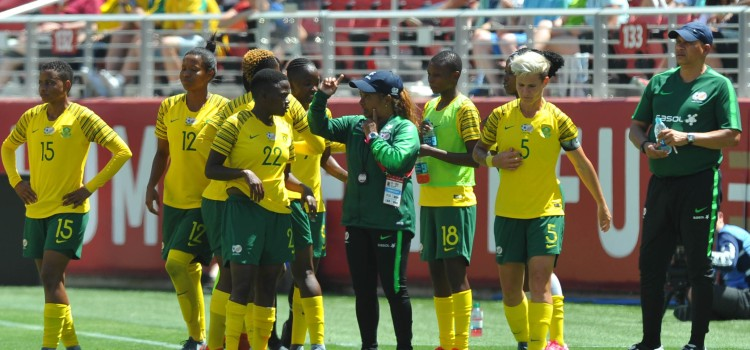 South Africa lost 3-0 to the world champions