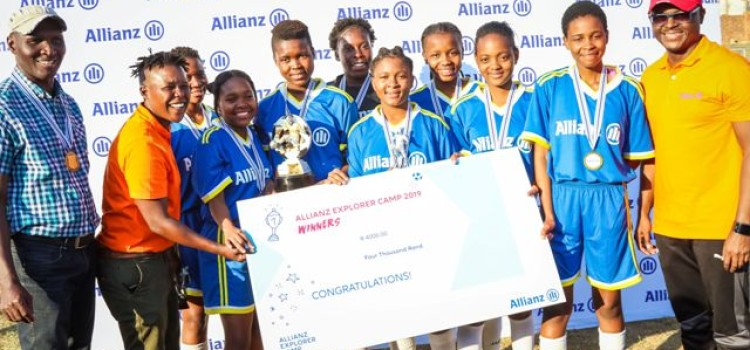Alex high school crowned as champions of the Allianz Explorer Camp