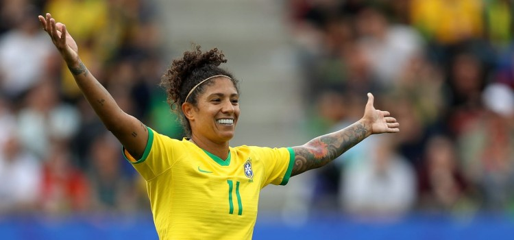 Cristiane: I'm going to be smiling for a while