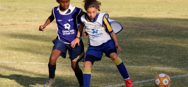 History is made with girls entering the 2019 Danone Nations Cup