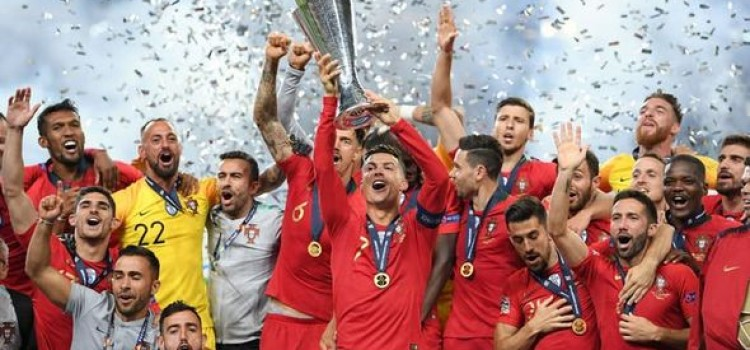 Portugal 1-0 Holland: Goncalo Guedes goal wins Nations League for Cristiano Ronaldo and co