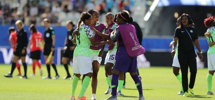 Oshoala sealed the win with an excellent second