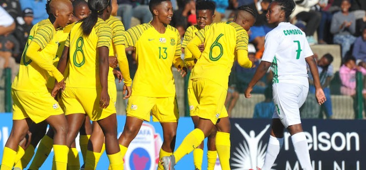 Record win for Banyana