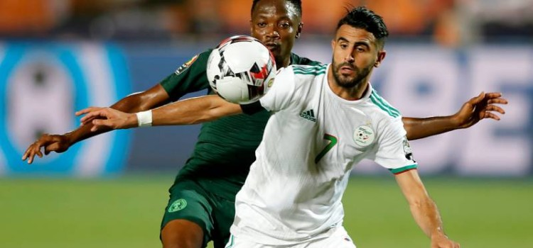 A last gasp goal from star Riyad Mahrez led Algeria to reach the 2019 Total Africa Cup of Nations final