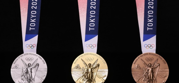 One year to go: Design of Olympic medals unveiled