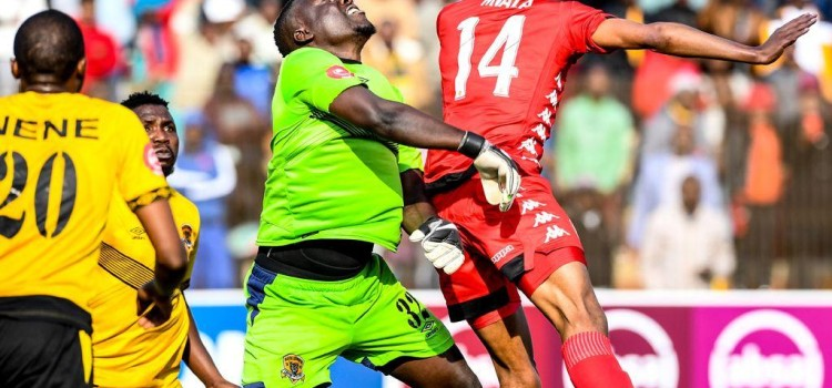 Black Leopards have claimed their first point against Highlands Park