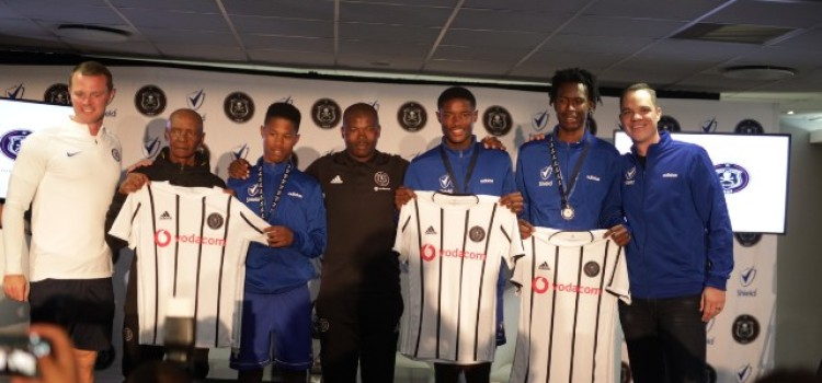 All three 2019 Sbonis'iDiski Top Footballers Receive Training with Chelsea FC and Pirates FC MDC Contract