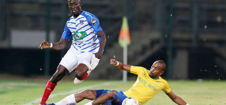 Mamelodi Sundowns recorded a 5-0 victory over Cote d'Or
