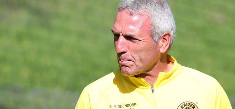 Coach Middendorp relishes the prospects of today's Match against Sundowns