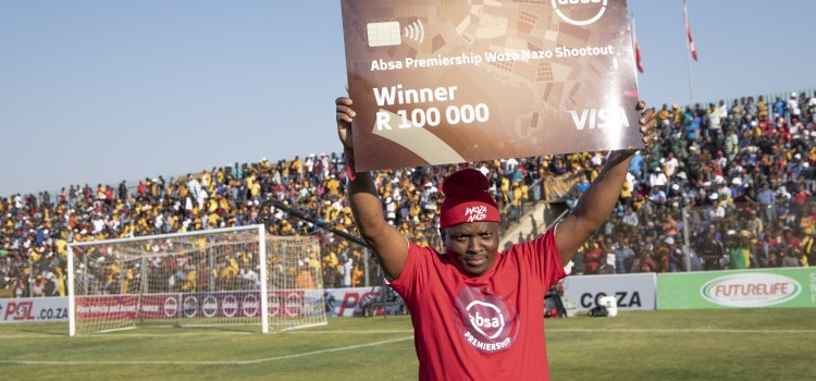 A Limpopo fan will take home R100 000 at half time