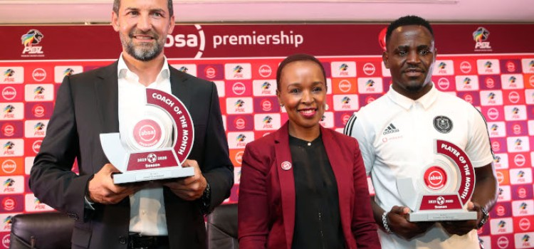 PIRATES PAIR WIN MONTHLY ABSA PREMIERSHIP ACCOLADES