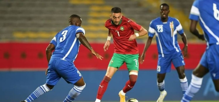 Morocco inch closer to Cameroon