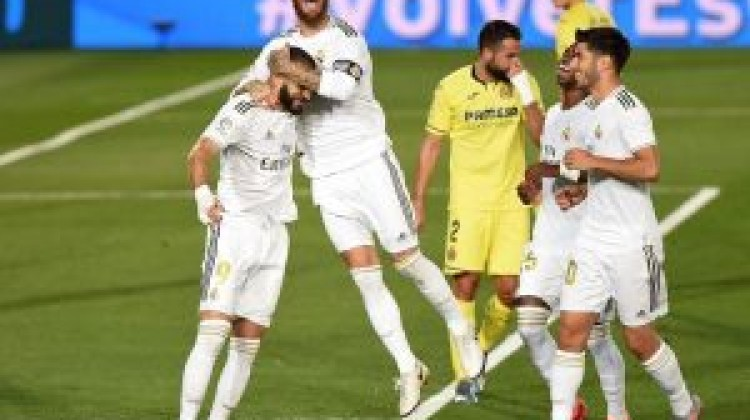 Real Madrid were held to a  1-1 draw by Villarreal