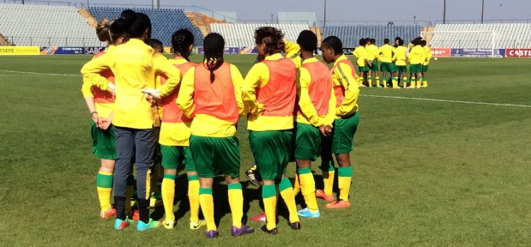 Basetsana report for CAF 2020 FIFA U20 Women's WC qualifier