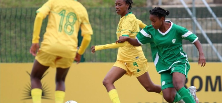 Banyana Banyana put all 7 goals against  Comoros